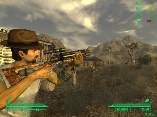 """Fallout New Vegas """"Metro2033Hellsing"""""""