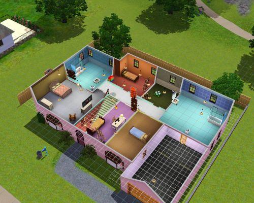Как сделать дом в симс 4